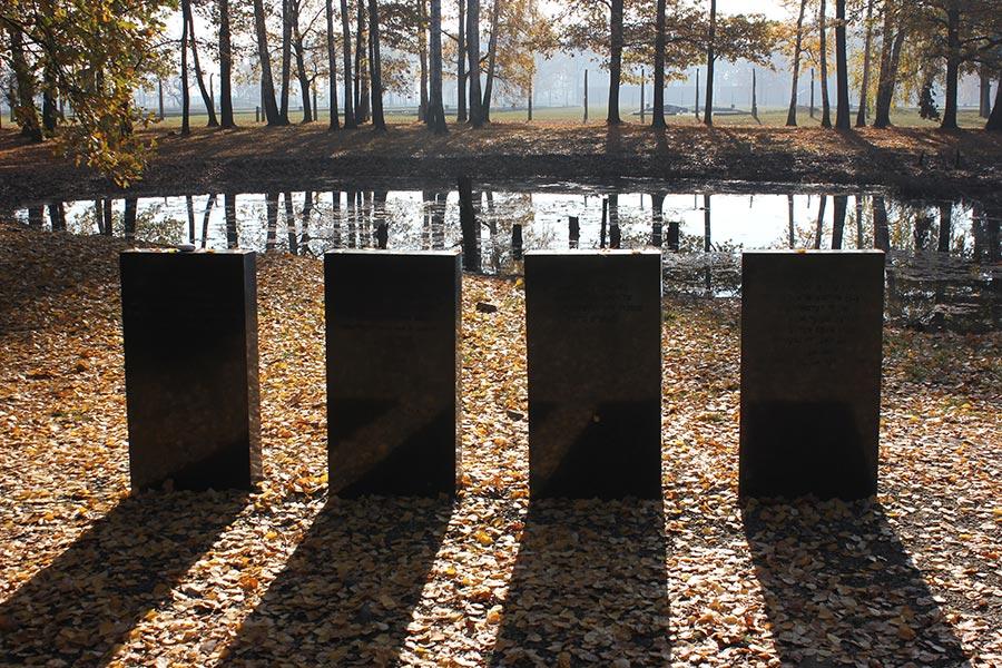 Holocaust memorial partnership gallery for Design of ash pond